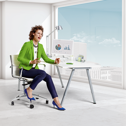 Office Woman ComPilot Air II